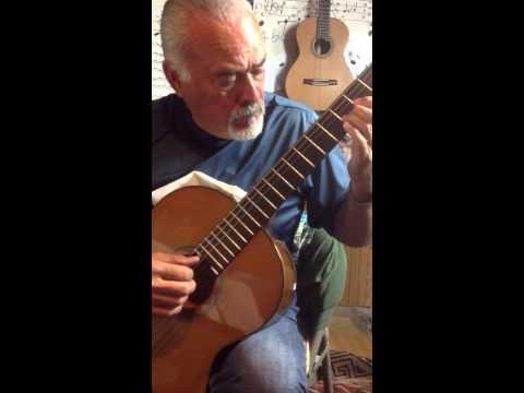 Ben, Classical Guitar, El Noi De La Mare On A Candelas Bocote Guitar