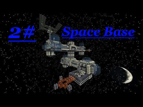 Minecraft Space Base 2#: Solar Panels and Engine