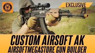 Build Your Custom AK with the AMS Gun Builder | Airsoftmegastore.com