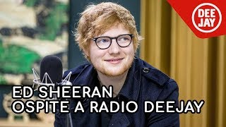 Download Lagu Ed Sheeran: l'intervista completa a Radio DEEJAY Gratis STAFABAND