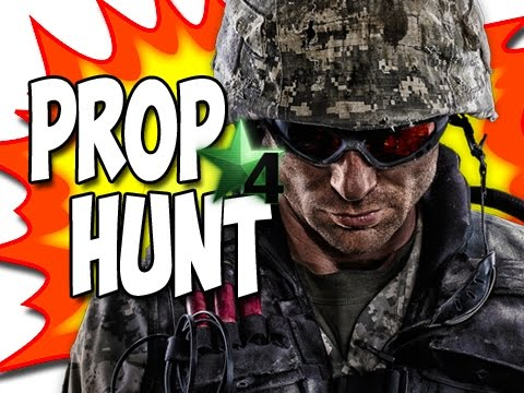 Call of Duty 4: Prop Hunt Funny Moments ICE CREAM #11