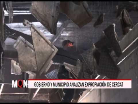 02/03/2015 20:00 GOBIERNO  Y MUNICIPIO ANALIZAN EXPROPIAR MERCADO CERCAT