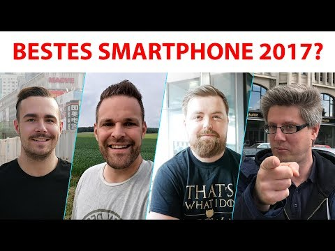 Bestes Smartphone 2017 – was Technik-YouTuber sagen!