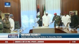 President Buhari Meets Service Chiefs Over Banditry, Kidnapping |Lunchtime Politics|
