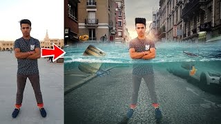 Picsart Tutorial City Underwater Photo Manipulation Tutorial PicsArt Photo Editing Tutorial