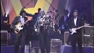 B.B. King, Jeff Beck, Eric Clapton, Albert Collins \u0026 Buddy Guy in Apollo Theater 1993 Part 2