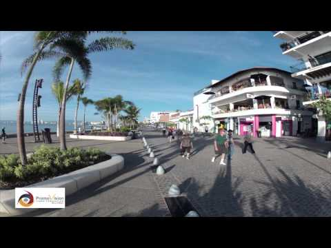 Puerto Vallarta Malecon Time-Lapse GoPro Tourism PromovisionPV.com