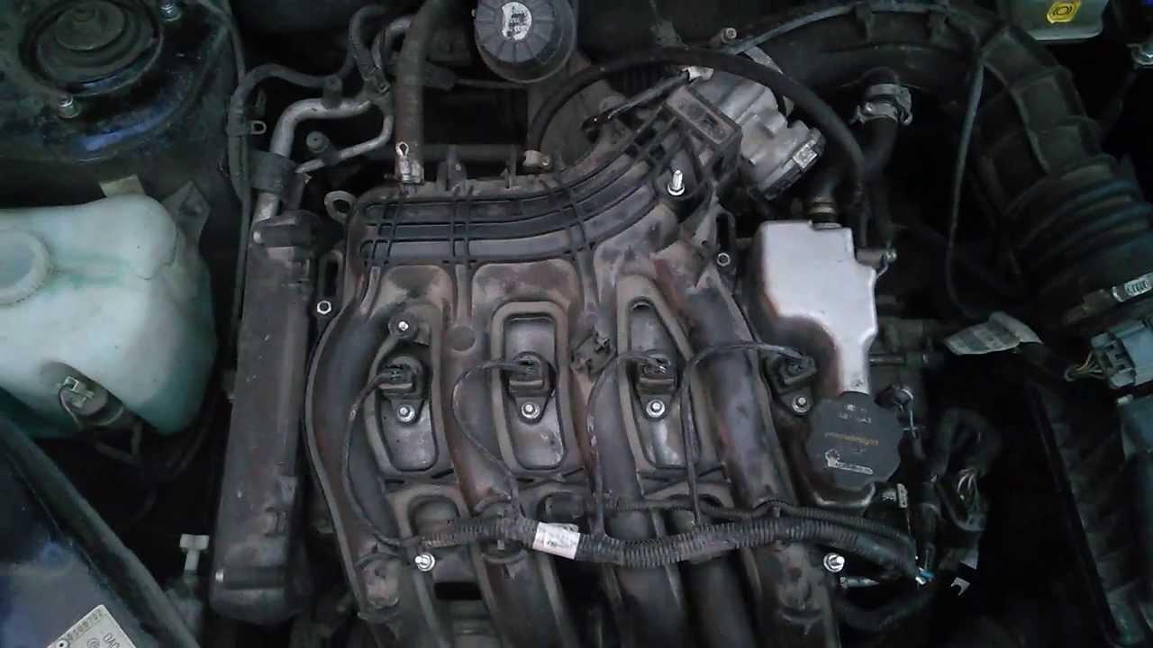 Лада гранта почему троит двигатель