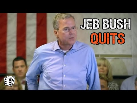 Jeb Bush Suspends His Presidential Campaign