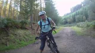 Cannock Chase follow dog & monkey mountain biking singletrack freeride cross country trail