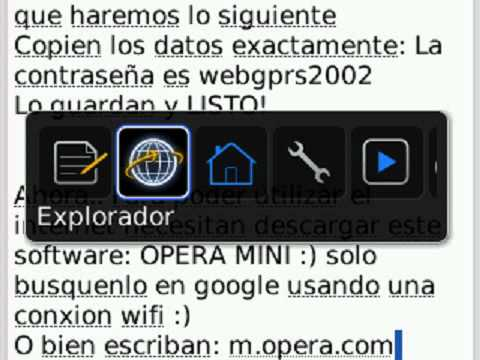 INTERNET GRATIS BLACKBERRY TELCEL!  SIN PLAN DE DATOS..