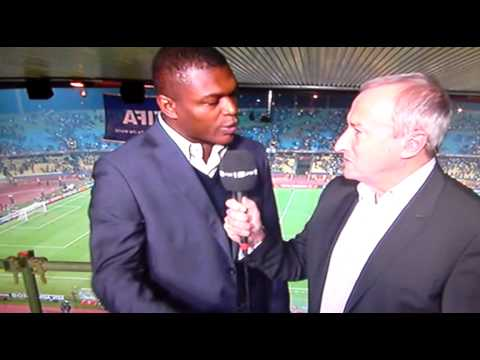 Marcel Desailly getting pumped