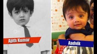 Kutty Thala: Ajith son Aadvik's photos go viral | Ajith, Shalini, Aadivik