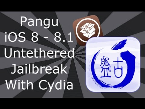 NEW How To Jailbreak iOS 8.1 With Cydia iPhone 6, 6 Plus,5S,5C,5,4S iPad Air 2,4,3,2,Mini & iPod T 5