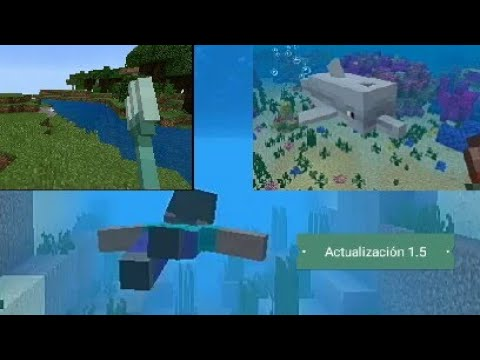 Como actualizar a la versión acuatica de Minecraft PE (1.5.0.0)