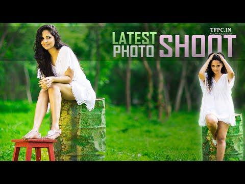 Actress Anasuya Bharadwaj Latest Photo Shoot | C L I C K O H O L I C | TFPC