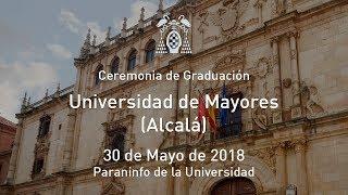 Graduación Universidad de Mayores (Alcalá) · 30/05/2018