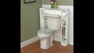 Download Small bathroom design ideas - bathroom storage over the toilet 3Gp Mp4