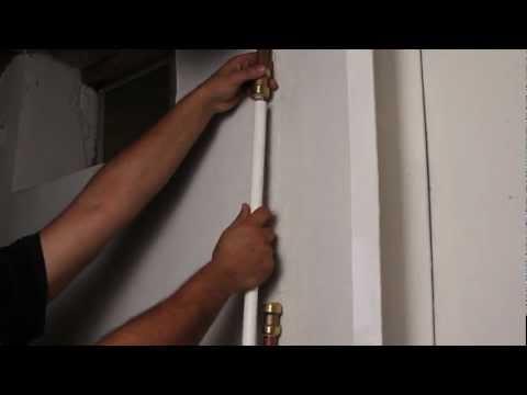 How to Repair Burst Pipe - Frozen Pipe Repair with SharkBite