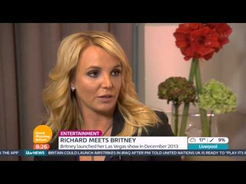 Britney Spears Good Morning Britain 2014