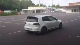 Golf 7 GTI Clubsport - MSD Attrappe - Exhaust Sound