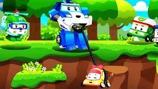 Robocar Poli help Mini English robot car episodes game