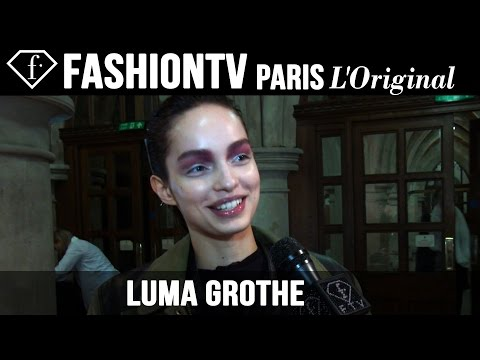 Luma Grothe: My Look Today | Model Talk | Fashiontv video