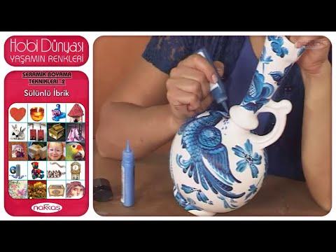 Seramik Boyama Teknikleri 2 - Sülünlü İbrik
