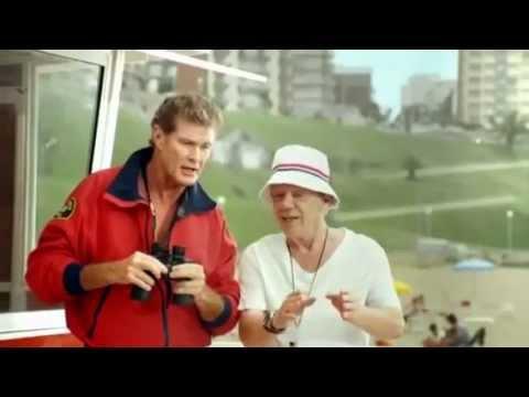 """Vamos a la Playa"" COMPLETO!!!!! David Hasselhoff, Emilio Disi & KITT"