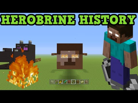 Minecraft - History of HEROBRINE - The Herobrine Story