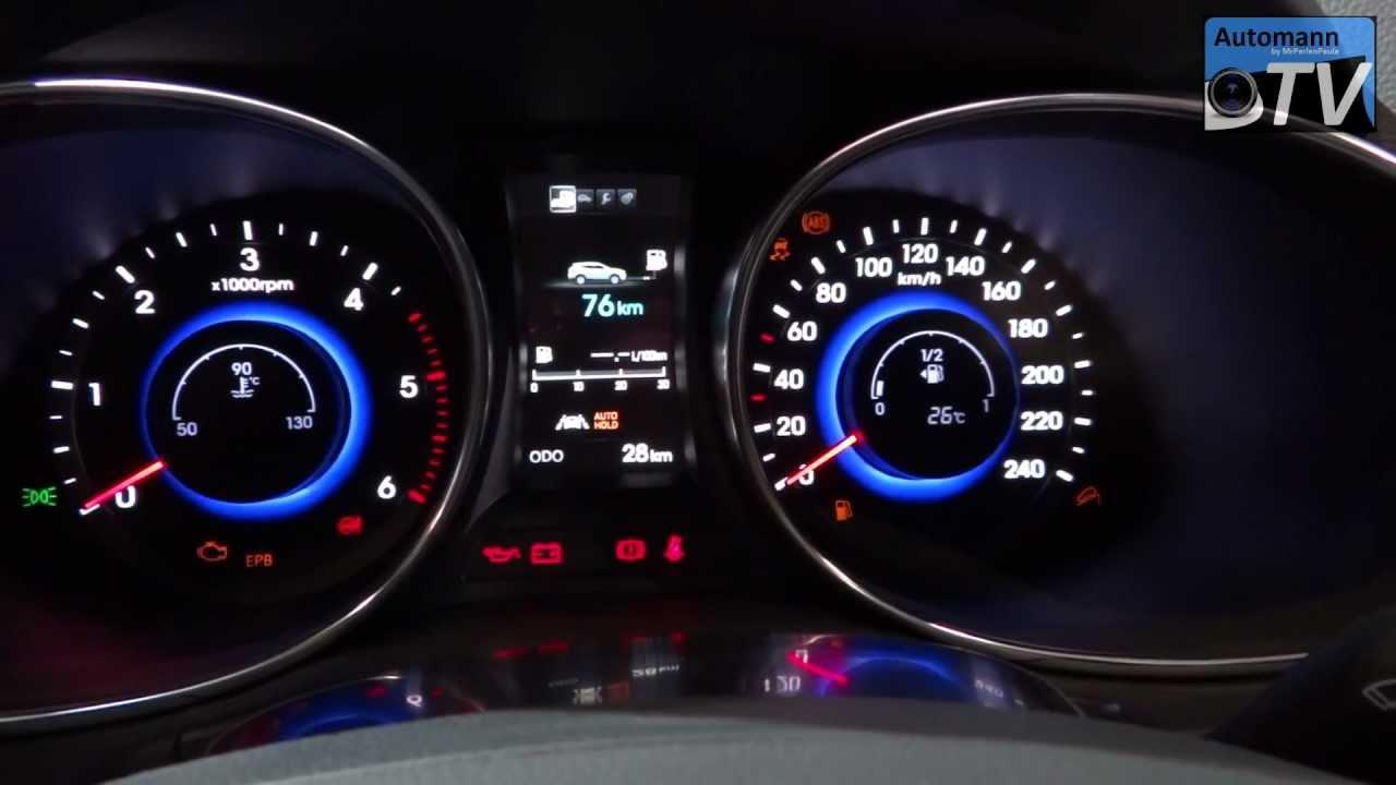 2013 Hyundai Santa Fe Ix45 Awd In Detail 1080p Full