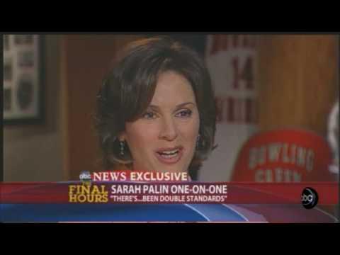 Elizabeth Vargas Interviews VP Candidate Governor Sarah Palin (October 30 2008)