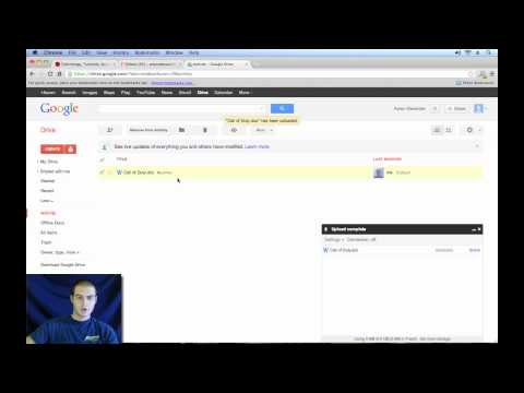 Google Drive Tutorial 2013 - Introduction (1/4)