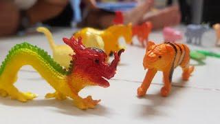 Kids Toy| Trò chơi bé nhận biết 12 con giáp | Đồ chơi trẻ em 12 Zodiac