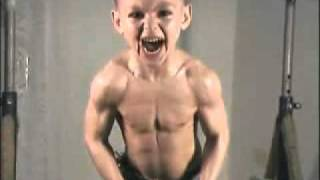 Strong 7 years old boy.avi