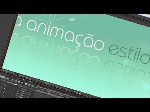 20. After Effects: Texto Animado com Estilo e Simplicidade