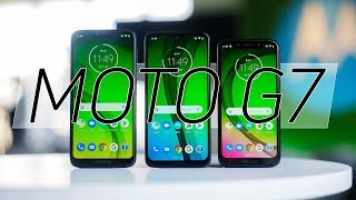 Moto G7 series hands on: Classy design with a catch?