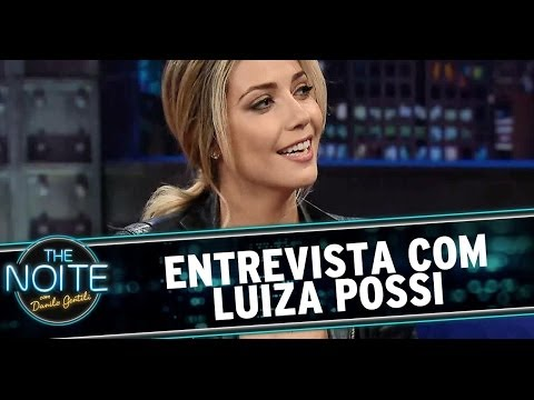 The Noite 13/06/14 (parte 1) - Entrevista Luiza Possi