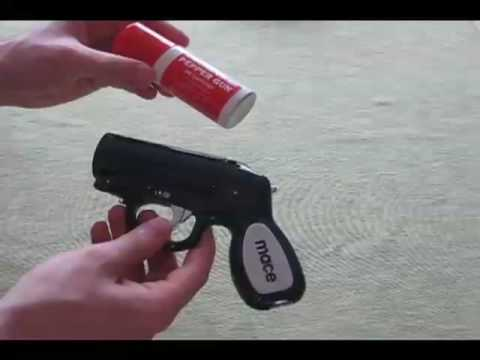 Mace Pepper Gun Full Review and Demonstration