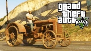 "GTA 5 Secret Cars - ""Rusted Tractor"" (GTA V)"