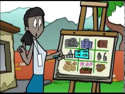 dibujos animados sobre el dengue