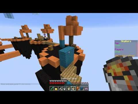 POR HACER EL TONTO!! - Sky Wars Minecraft