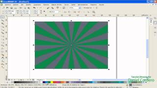 TUTORIAL COREL DRAW:  fondo abstracto