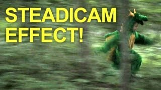 DSLR Steadicam (Effect) - No Glidecam Needed! - Quick FX
