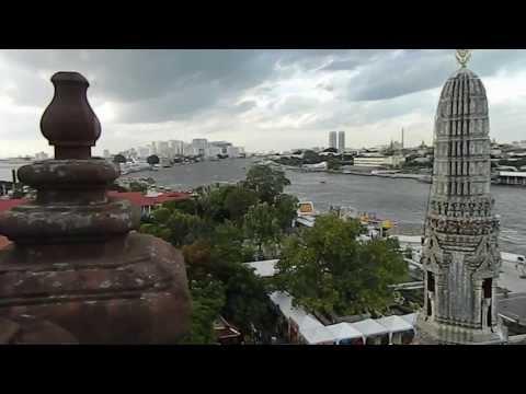 Bangkok; Wat Arun View From The Wat Top