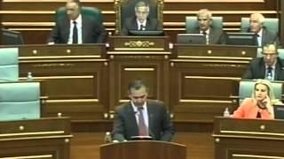 Lëvizja VETËVENDOSJE! Fjala e Rexhep Selimit në Kuvend 06.09.2012