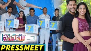 Husharu Movie Release Pressmeet | Rahul | Tejas | Dinesh | Tej | Sri Harsha