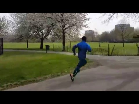 KENENISA BEKELE RUNNING STYLE In Slow Motion