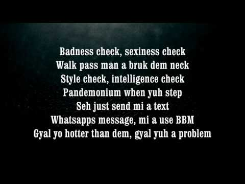 Mavado - Give it all to me (Lyrics on Screen) Ft. Nicki Minaj
