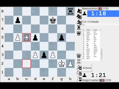 Chess World.net: LIVE Blitz commentary - White with Kings Gambit
